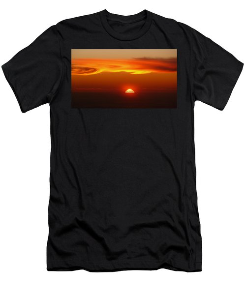 Sun Fire Men's T-Shirt (Athletic Fit)