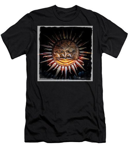 Sun Mask Men's T-Shirt (Athletic Fit)