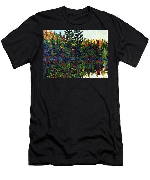 Sun Of Shore Sunrise Men's T-Shirt (Athletic Fit)