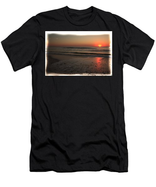 Sun Over The Ocean Men's T-Shirt (Athletic Fit)