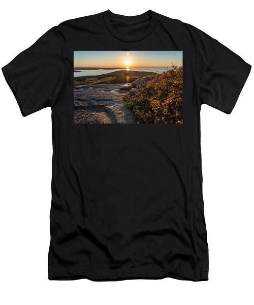 Sun Rise Shock Men's T-Shirt (Athletic Fit)