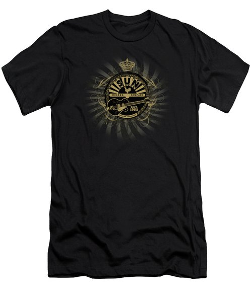Sun - Rock Heraldry Men's T-Shirt (Athletic Fit)