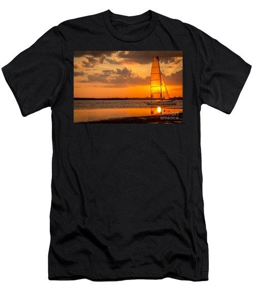 Sun Sail Men's T-Shirt (Athletic Fit)