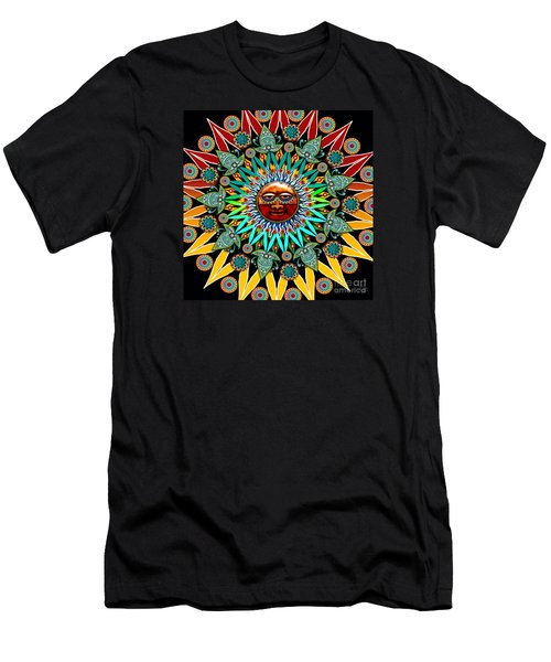 Sun Shaman Men's T-Shirt (Slim Fit) by Christopher Beikmann