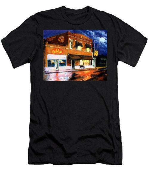 Sun Studio - Night Men's T-Shirt (Athletic Fit)