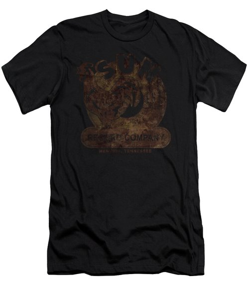 Sun - Sun Record Men's T-Shirt (Athletic Fit)