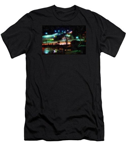 Sunburst In The Snow Men's T-Shirt (Athletic Fit)