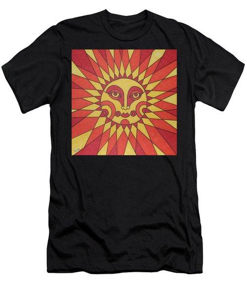 Sunburst Men's T-Shirt (Slim Fit) by Susie Weber