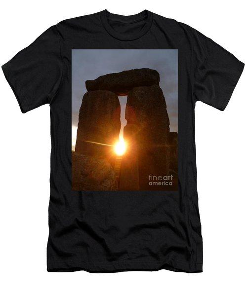 Men's T-Shirt (Slim Fit) featuring the photograph Sunburst by Vicki Spindler