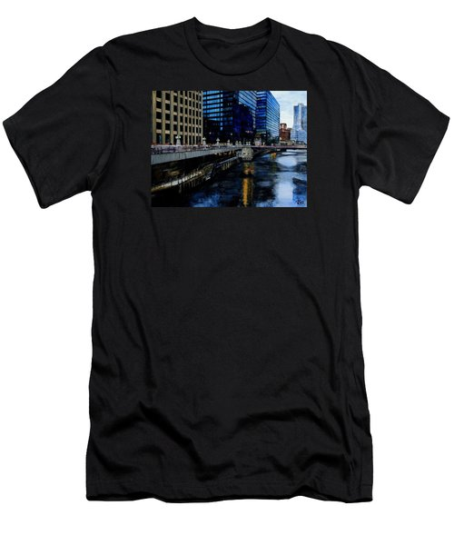 Sunday Morning In January- Chicago Men's T-Shirt (Athletic Fit)