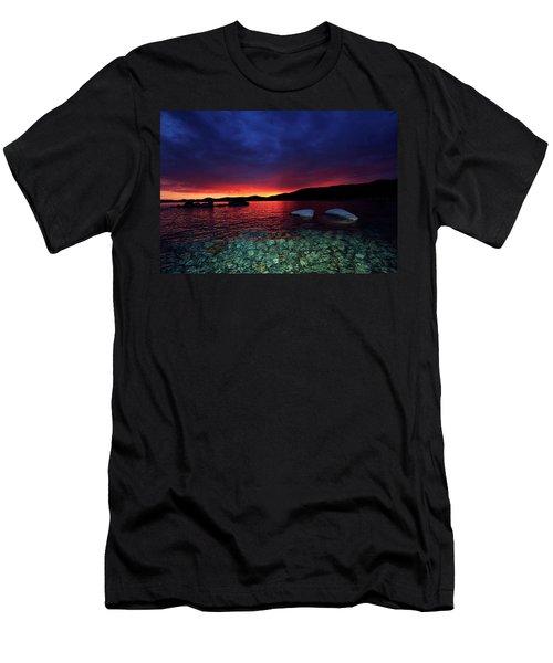 Sundown In Lake Tahoe Men's T-Shirt (Athletic Fit)