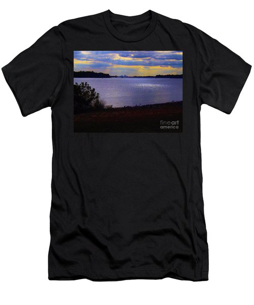 Sundown On A Cloudy Day Men's T-Shirt (Athletic Fit)