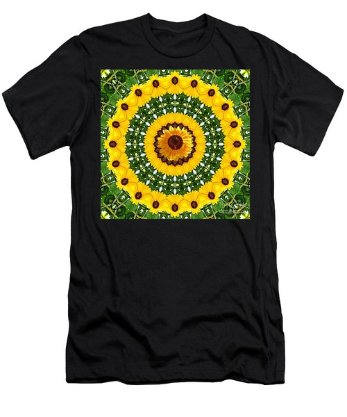 Sunflower Centerpiece Men's T-Shirt (Athletic Fit)
