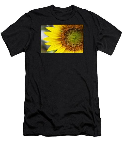 Sunflower Face Men's T-Shirt (Athletic Fit)