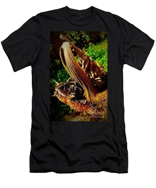 Men's T-Shirt (Slim Fit) featuring the photograph Sunflower Seedless 2 by James Aiken