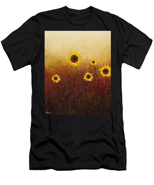 Sunflowers 1 Men's T-Shirt (Athletic Fit)