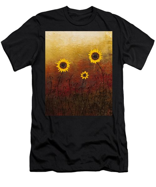 Sunflowers 2 Men's T-Shirt (Athletic Fit)