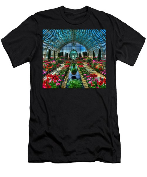 Sunken Garden Marjorie Mc Neely Conservatory Men's T-Shirt (Athletic Fit)