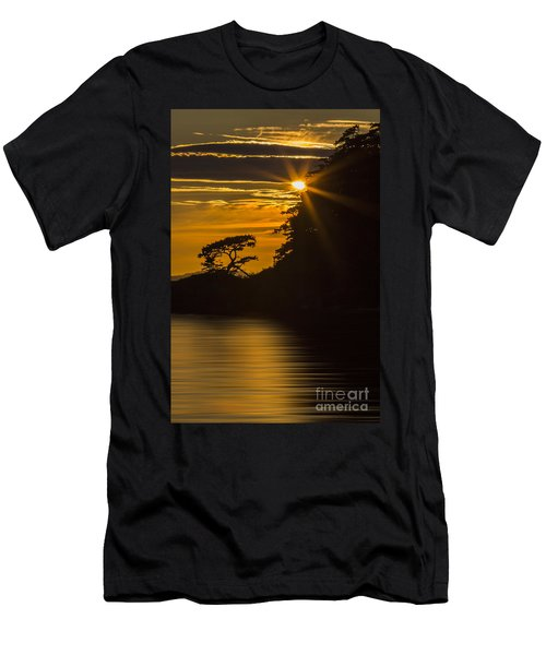 Sunkissed Men's T-Shirt (Slim Fit) by Sonya Lang