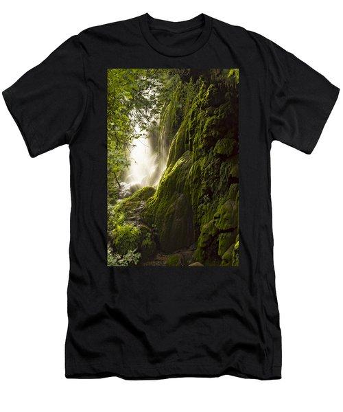 Gorman Falls Ray Of Light Men's T-Shirt (Athletic Fit)