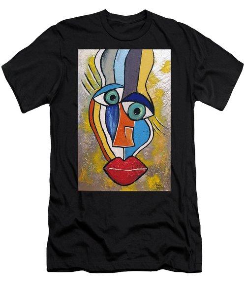 Sunny Face Men's T-Shirt (Athletic Fit)