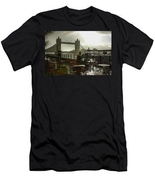 Sunny Rainstorm In London - England Men's T-Shirt (Athletic Fit)