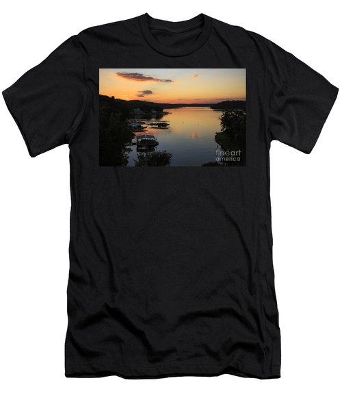 Sunrise At Lake Of The Ozarks Men's T-Shirt (Athletic Fit)