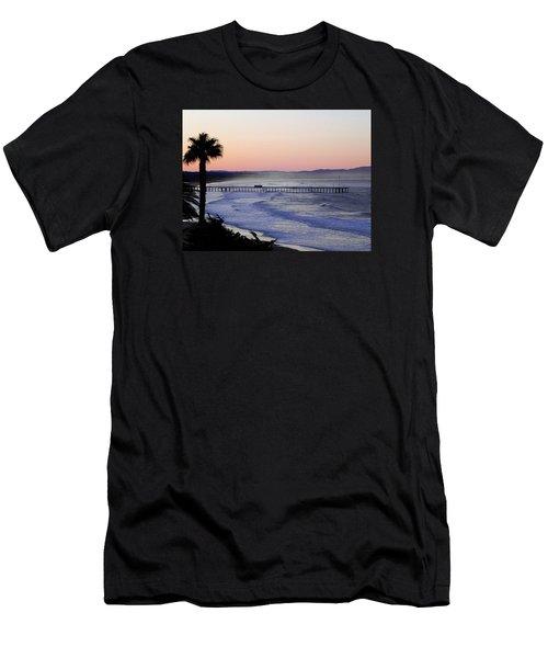 Sunrise At Pismo Beach Men's T-Shirt (Athletic Fit)