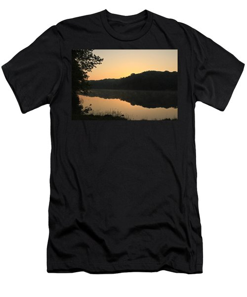 Sunrise At Rose Lake Men's T-Shirt (Athletic Fit)