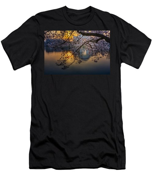 Sunrise At The Thomas Jefferson Memorial Men's T-Shirt (Athletic Fit)