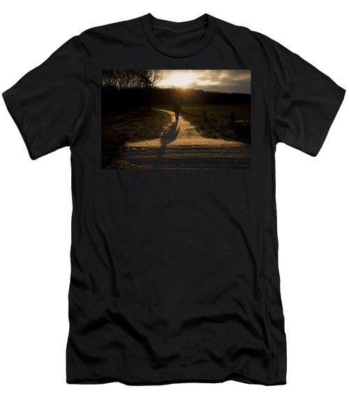 Sunrise Atmosphere Men's T-Shirt (Athletic Fit)