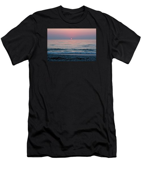 Sunrise Blush Men's T-Shirt (Athletic Fit)