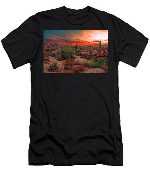 Sunrise Cocktail Men's T-Shirt (Athletic Fit)