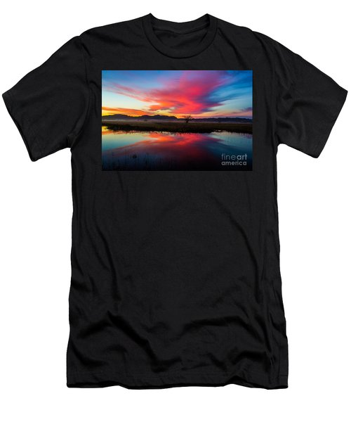 Sunrise Glory Men's T-Shirt (Athletic Fit)