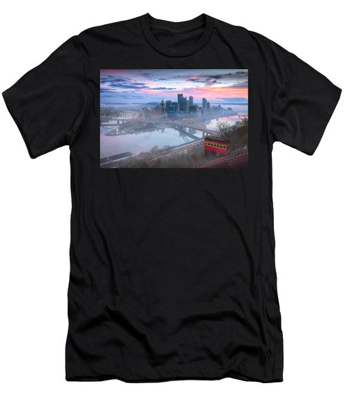 Pittsburgh Fall Day Men's T-Shirt (Athletic Fit)