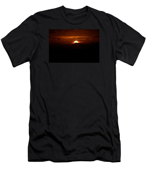 Sunrise In The Clouds Men's T-Shirt (Athletic Fit)