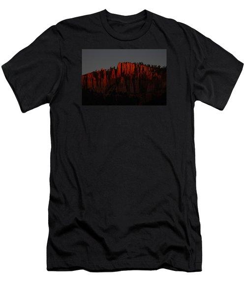 Sunrise In The Desert Men's T-Shirt (Slim Fit) by Menachem Ganon