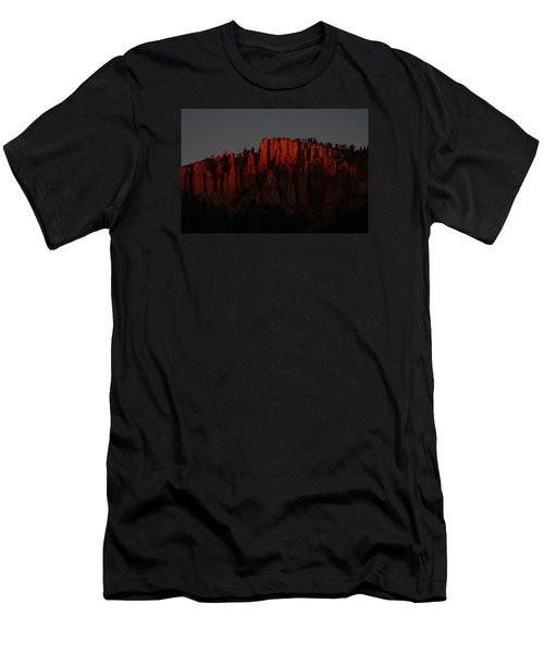 Sunrise In The Desert Men's T-Shirt (Athletic Fit)