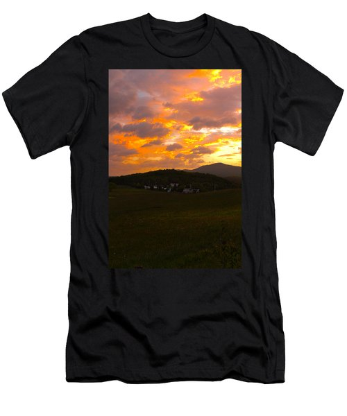Sunrise In The Smokies Men's T-Shirt (Athletic Fit)