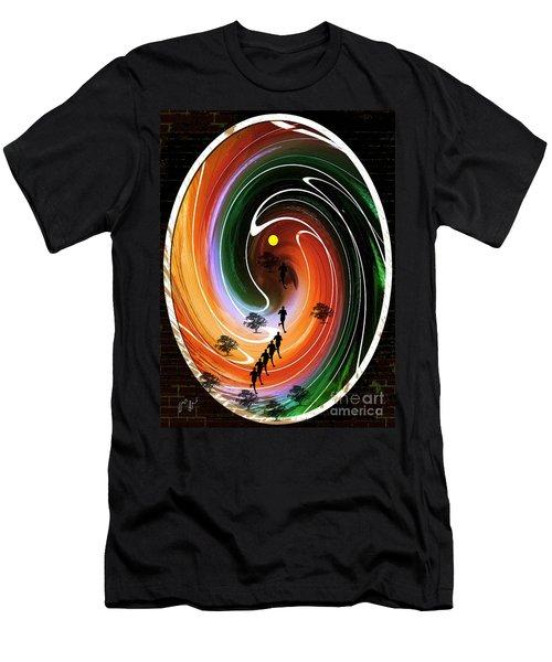 Sunrise Joggers  Men's T-Shirt (Athletic Fit)