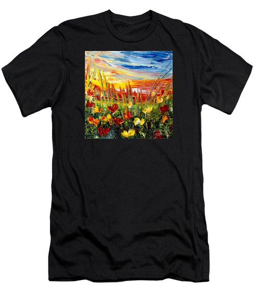Sunrise Meadow   Men's T-Shirt (Athletic Fit)
