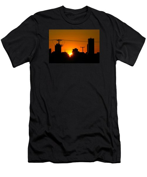Sunrise -- My Columbia Seen Men's T-Shirt (Athletic Fit)