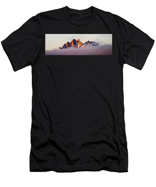 Sunrise On An Island In The Sky Men's T-Shirt (Athletic Fit)