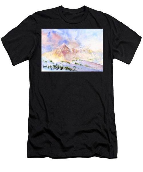 Sunrise On Mount Ogden Men's T-Shirt (Athletic Fit)