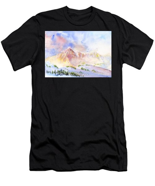 Sunrise On Mount Ogden Men's T-Shirt (Athletic Fit)