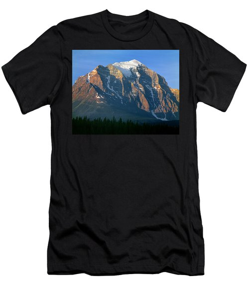 1m3518-sunrise On Mt. Temple Men's T-Shirt (Athletic Fit)