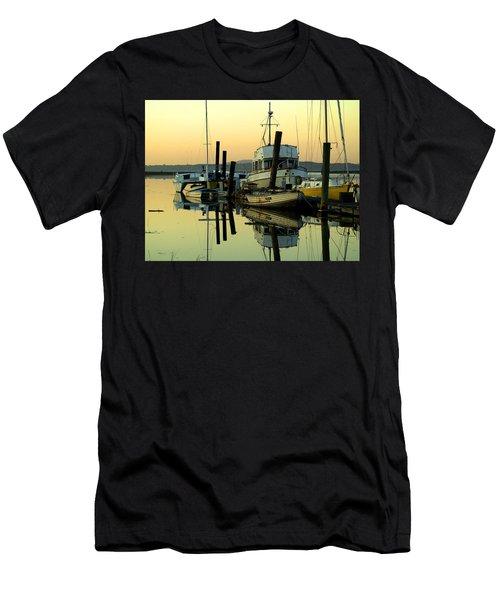Sunrise On The Petaluma River Men's T-Shirt (Athletic Fit)