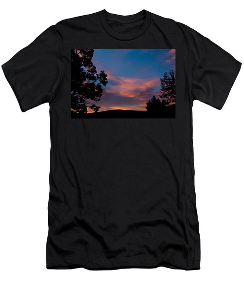 Sunrise Over Mammoth Campground Men's T-Shirt (Athletic Fit)