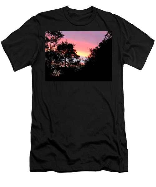 Sunrise Over Perry Men's T-Shirt (Athletic Fit)