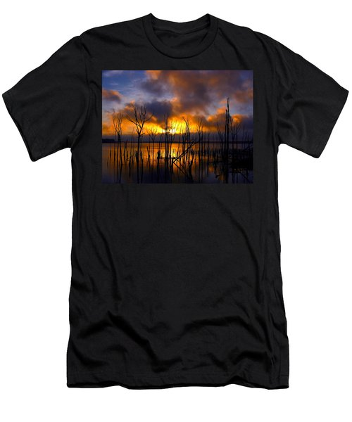 Sunrise Men's T-Shirt (Slim Fit) by Raymond Salani III